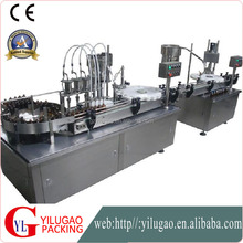 Automatic Bottle Filling Capping And Labeling Machine Small Production Line