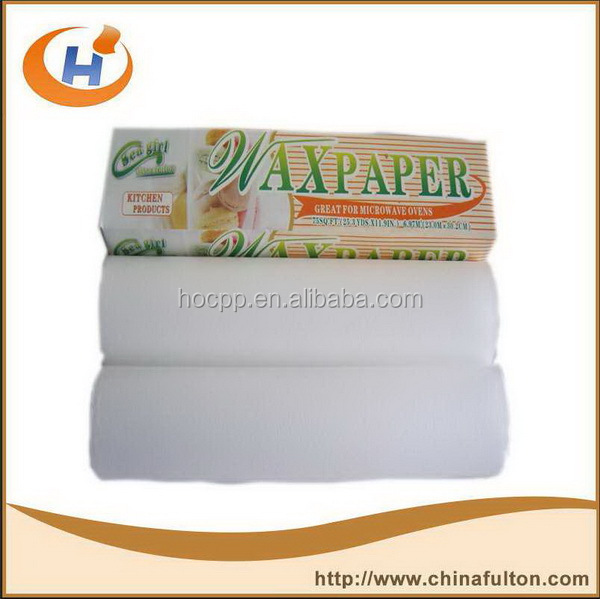 colorful crepe wax paper for food packaging artwork packaging paper and wax coated kraft paper