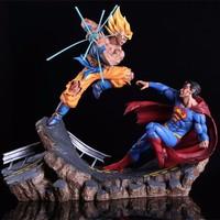 OEM dragon ball z/ Son Goku plastic action figure, resin figure for dragon ball