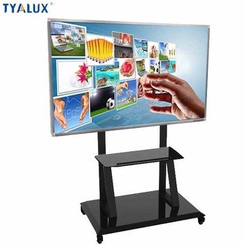 55 Inch 3840x2160 450nits touch screen interactive lcd whiteboard smart board