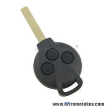 Remote key Keyless Entry Fob 3 Button For MERCEDES BENZ Smart Fortwo 434MHZ