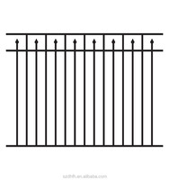 Cheap and high quality fencing made of hot-dip galvanized steel ISO 9001 China largest factory