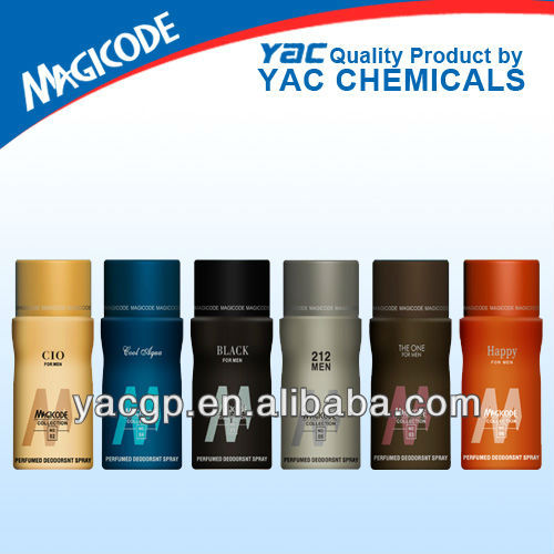 150ml private lable perfume best deodorant body spray for men made in China