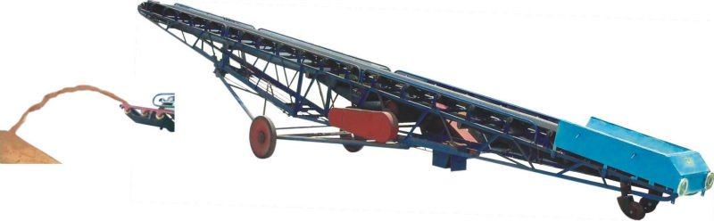 Heat-resistant belt conveyors for clinker and slag materials