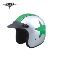 BLD Open Face Motorcycle Helmet With ECE R22.05