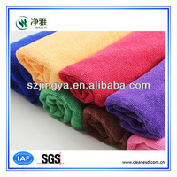 manufacturer excellent quality soft hand touching can be customized microfiber cleaning towel for cars