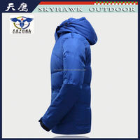 Global Hot Sale High Quality Customized Shiny Down Jacket For Men