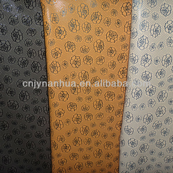 K143 THE HOT ITEM PVC SYNTHETIC LEATHER FOR DECORATIVE