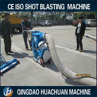550mm road floor surface cleaning shot blasting machine