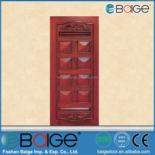BG-M218 new designs solid wood bedroom door new designs