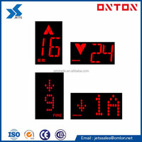 Elevator LED Display Board for COP LOP HOP Red Character Black Background