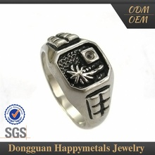 Direct Factory Price Modern Style Custom Shape Lasered Stainless Steel Adjustable Rings