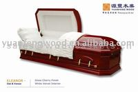 ELEANOR high gloss coffins casket interior lining