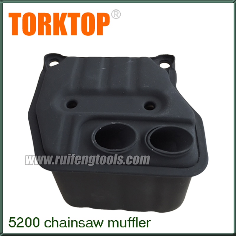 China Petrol chainsaw spare parts chainsaw muffler