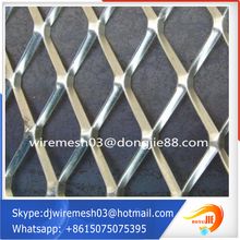 Best price expanded metal building materials/Green coated Aluminum expanded metal mesh(factory sales)