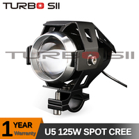 Local Delivery ! U5 led lights for motorcycle black aluminium alloy 7'' led auto headlights