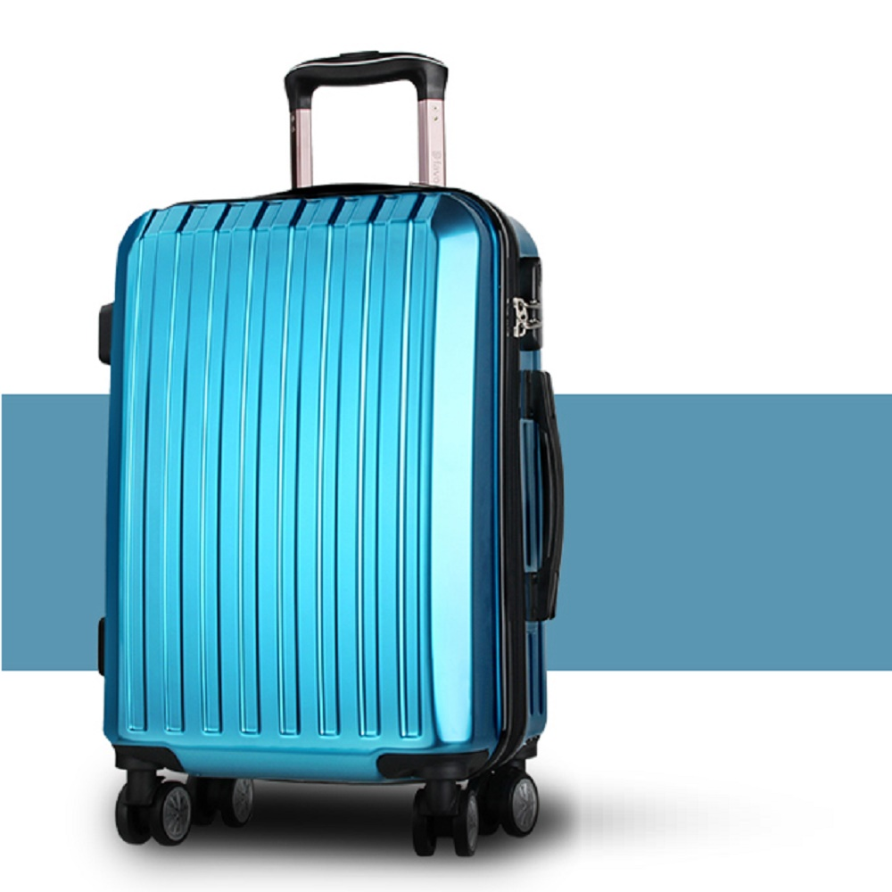 2016 hot sell travel business abs / polycarbonate trolley luggage