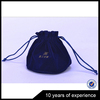 Latest Hot Selling!! OEM Design round velvet bag with satin lining for jewelry organza bag with good prices
