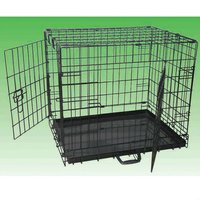 pet wire foldable dog cage