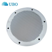 Wedge wire circular sieve - plate