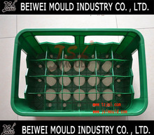 Good quality plastic injection 20 bottles beer crate mould