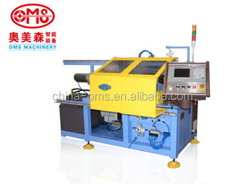 high speed CNC metal pipe end spinning and forming machine
