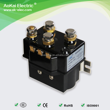 AOKAI Short Work 100A Continuos 400A DC Contactor Similar Albright 12V 24V DC Relay For Electrical Forklift Truck