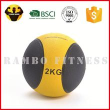 RAMBO Hot Sell Colorful Rubber Medicine Weight Ball 1Lb