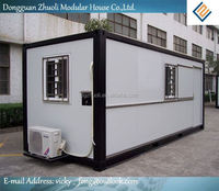 Modular prefab home kit price,low cost portable office containers