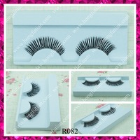 Wholesale price false eyelash human hair eyelash red cherry lashes supplier