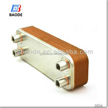 Reasonable price 100 kw oil cooler plate heat exchanger for CB60 CB75