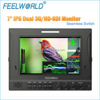 "7"" full hd lcd monitor hdmi 3g hd sdi in and out with waveform, vectorscope and RGB Histogram"