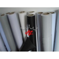 PVC flex material, laminated banner, poster materials