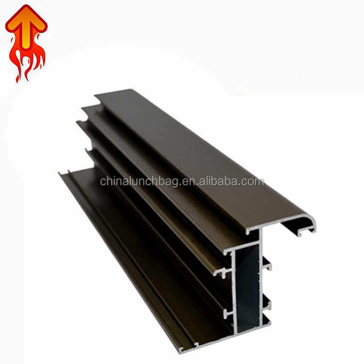 Free sample colored aluminum/weight of aluminum section