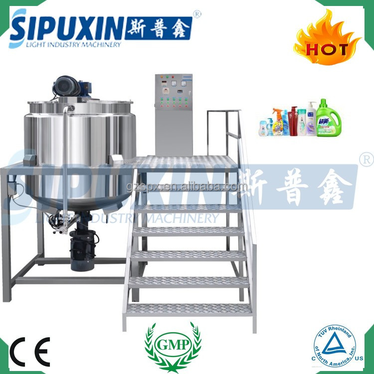Guangzhou low price quality assurance homogenizer machine for making mayonnaise