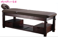 Solid wooden message table /wholesale massage beds