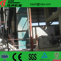 gypsum powder processing plant and energy-saving