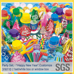 Guangdong Made New Years Decorations set, New Years Eve Party Kits