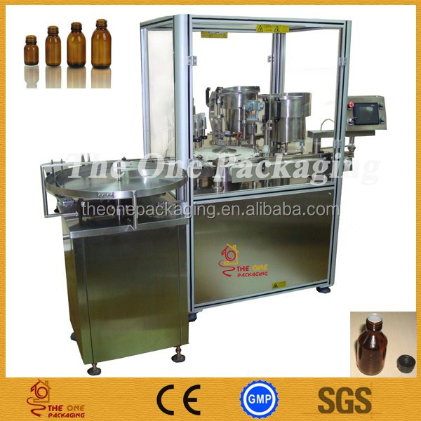 Automatic 3-In-1 Monoblock 3 in 1 Glass Bottle Alcohol Brandy Filling Machine