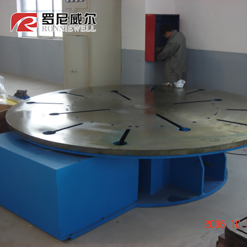 Qualities product positioner remote welding turning table