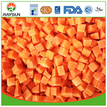 IQF diced carrot frozen carrot