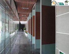 movable partition wall in conference room Operable Partition Wall sliding doors banquet glass or wooden panels fire reisistance