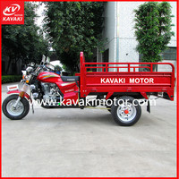 Made In China Good Quality Cheap Price Wuyang Motorcycle Cargo Tricycle Adult Riding Export To Egypt