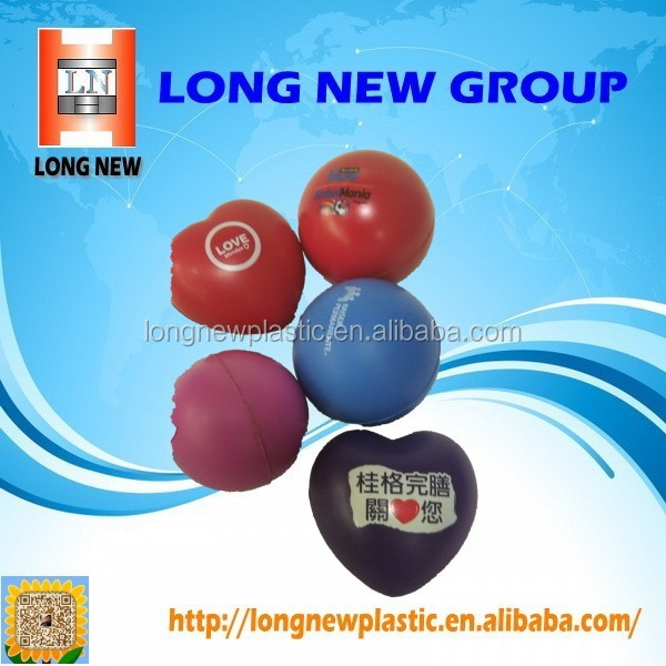 PU Heart Stress Ball and Custom Logo Stress Ball