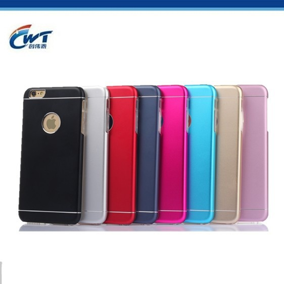 Luxury TPU 2 in 1 metal case aluminum back cover for casing iphone 5