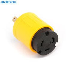 American type electrical RV adapter cable plug