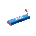 Victpower 3.7v 6600mah 1s3p lithium battery pack