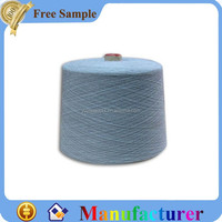 color recycled cotton yarn for knitting