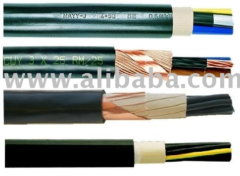 Low Voltage Cables 0, 6 / 1 Kv