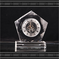 Custom Crystal Clock,Crystal Table Clock For Gifts&Souvenirs